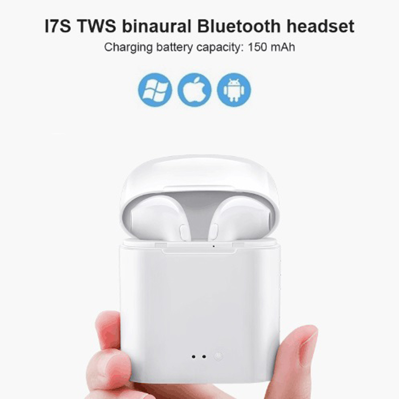 I7s Tws Mini Wireless Bluetooth Earphone Stereo Earbud Headset With Charging Box Mic For Iphone Xiaomi All Smart Phone Air Pods Tech Site